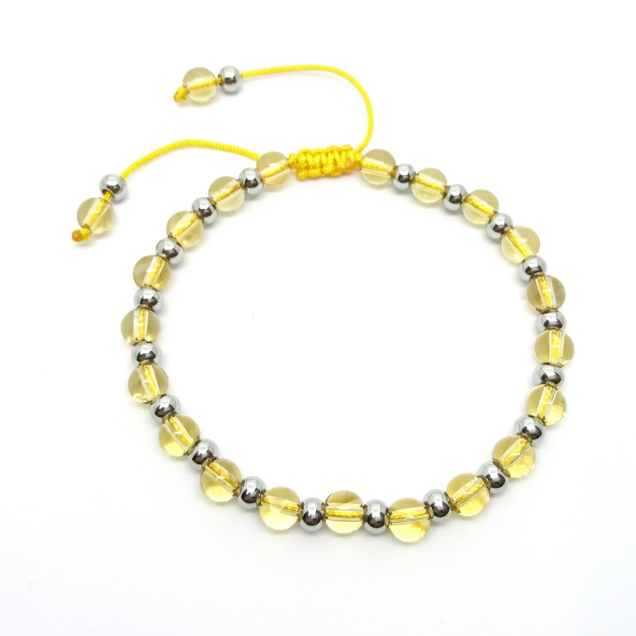 natural circle full sg products bracelet citrine image
